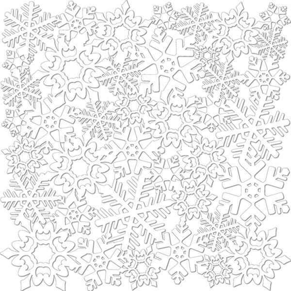 Бумага для скрапбукинга новогодняя своими руками